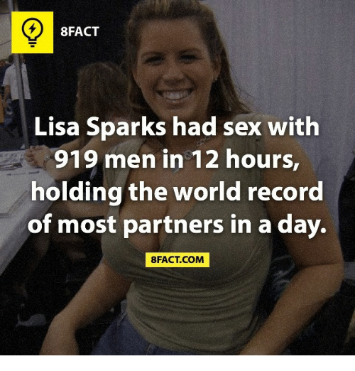 World Record For Sex Partners 42