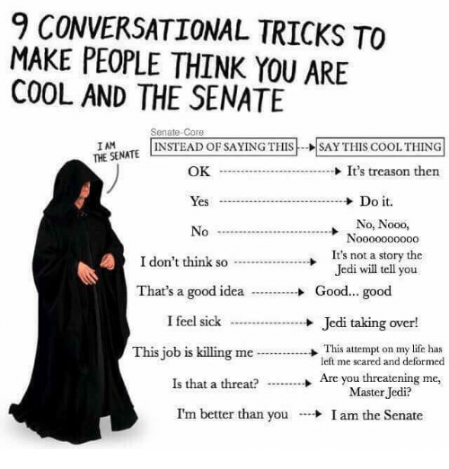 how to make people think your cool