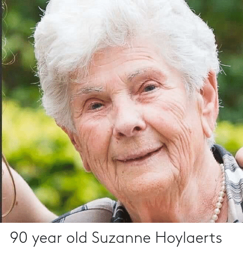 suzanne: 90 year old Suzanne Hoylaerts