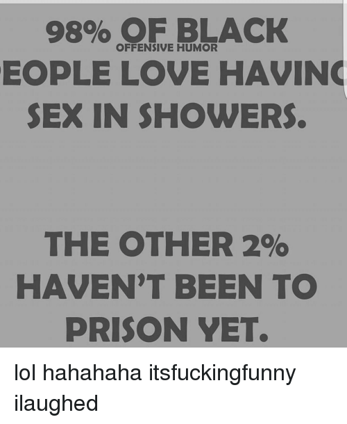 Humor n sex shower