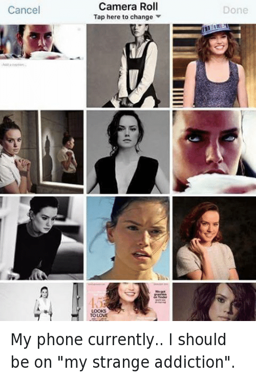 BAIw4qCr912 Instagram my phone currently i should be on my strange addiction daisy
