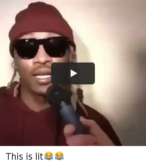 Daquan, Future, and It's Lit: @daquan This is lit😂😂