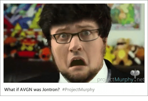 Dank Memes, Avgn, and Jontron: What if AVGN was Jontron? #Project Murphy  ro  Murphy net