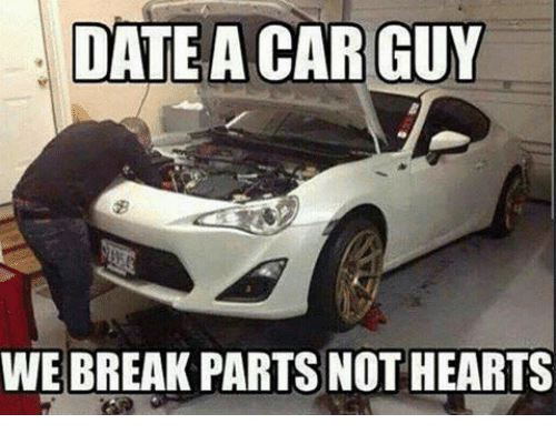 Dating a car guy quotes