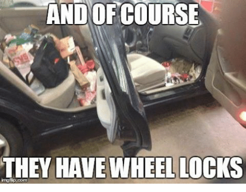 mechanic: AND OF COURSE  THEY HAVE WHEEL LOCKS  inngfip.com