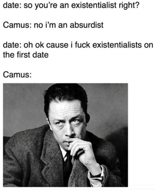 Non Existent Existentialist