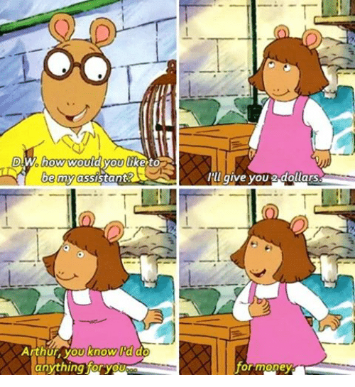15 Signs DW From \u0027Arthur\u0027 Is Actually Your Spirit Animal