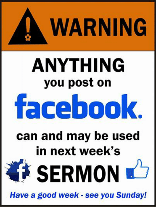 WARNING ANYTHING You Post on Facebook Can and May Be Used ...