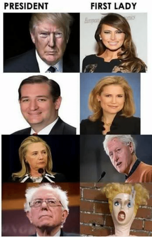 Funny First Lady Meme : President first lady presidents meme on sizzle