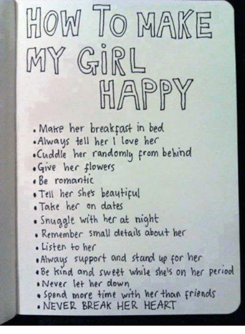 Facebook 6b559d how to make my girl happy make her break past in bed always tell