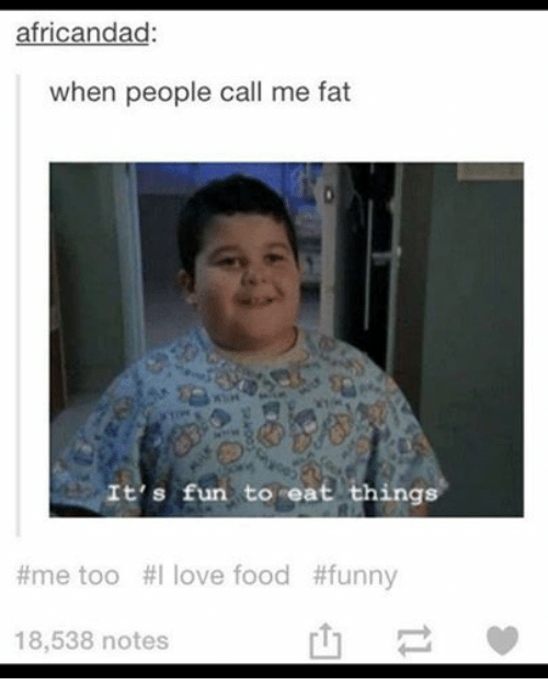 Funny Things To Call Fat People 113