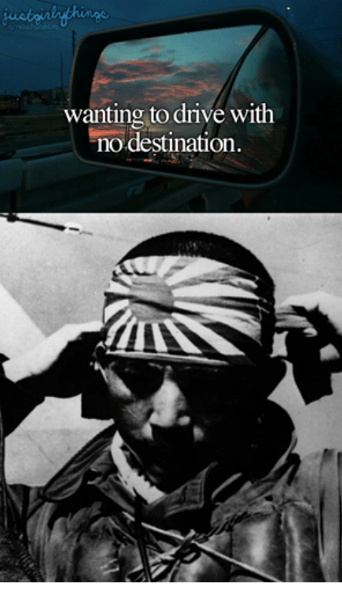 Dank Memes: wanting to drive with  no destination