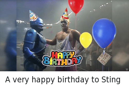 Facebook A very happy birthday to Sting 4355ef a very happy birthday to sting birthday meme on sizzle