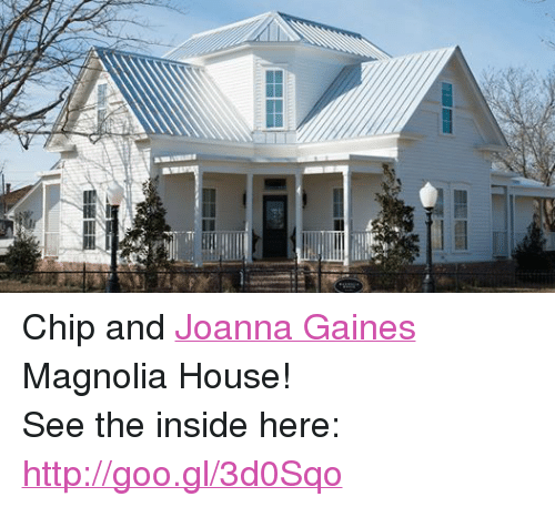 Chip and joanna gaines magnolia house see the inside here for Inside chip and joanna gaines house