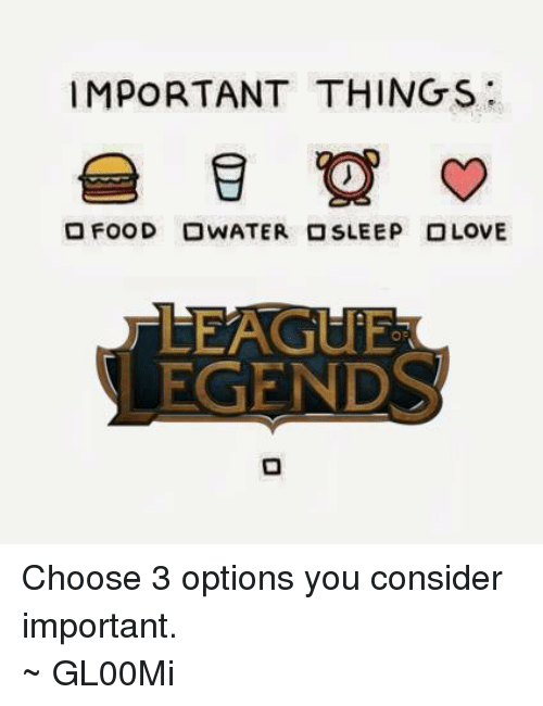 25 best memes about food league of legends and sleeping food league of legends and - Important thing consider decluttering ...