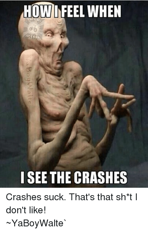 BMX: HOW FEEL WHEN  YRA  SEE THE CRASHES Crashes suck. That's that sh*t I don't like! ~YaBoyWalte`