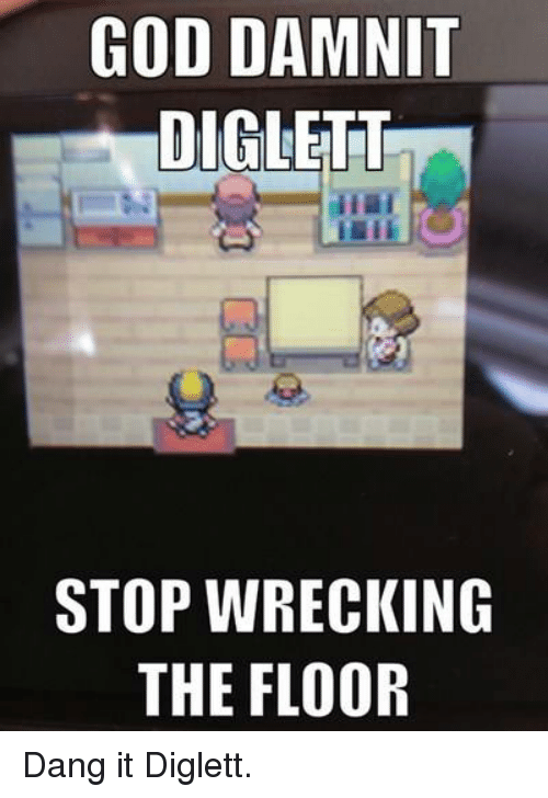 diglett meme - photo #27