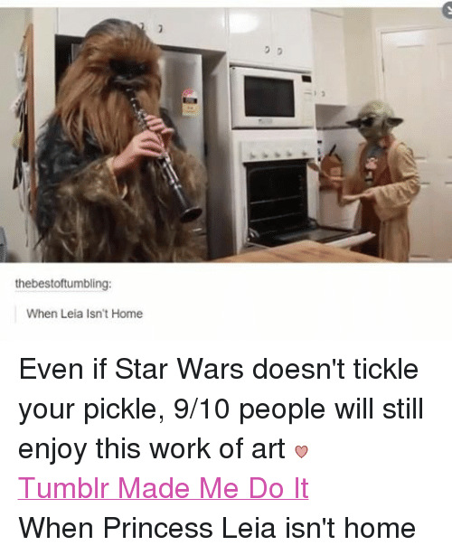 Facebook Even if Star Wars doesnt tickle ab9cad 🔥 25 best memes about funny, princess leia, star wars, tumblr, and