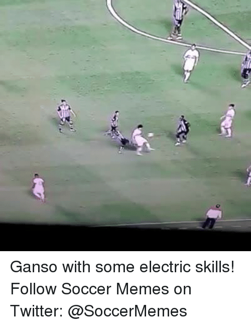 Meme, Memes, and Soccer: Ganso with some electric skills! Follow Soccer Memes on Twitter: @SoccerMemes