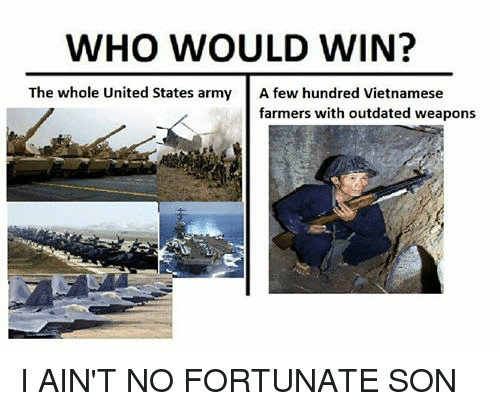 WHO WOULD WIN? The Whole United States Army a Few Hundred ...