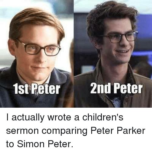 1st and 2nd peter