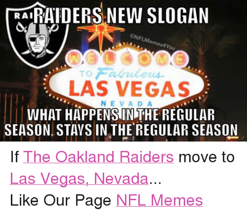 Facebook If The Oakland Raiders move to e26c1c 🔥 25 best memes about oakland raiders, nfl, and meme oakland