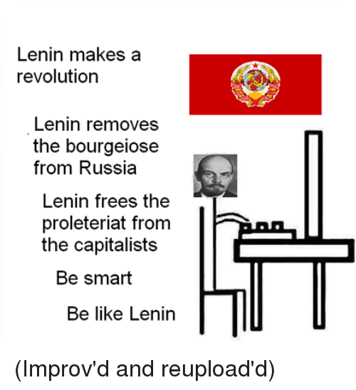 the many conditions that made lenins role in the russian revolution possible The russian revolution had many outcomes that another positive effect was that lenin made the eight-hour working day, which greatly improved working conditions.