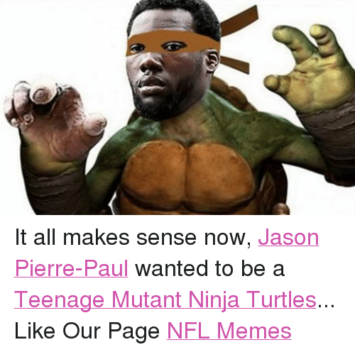 Jason Pierre Paul Now: Funny Teenage Mutant Ninja Turtles Memes Of 2016 On SIZZLE