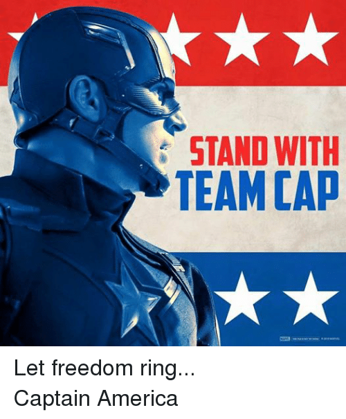 America, Captain America, and Avengers: STAND WITH  TEAM CAD Let freedom ring... Captain America