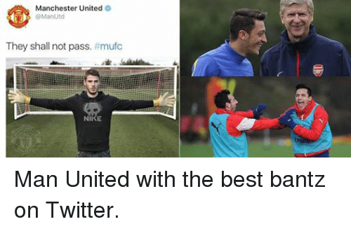 Facebook Man United with the best bantz 88f1bd 🔥 25 best memes about manchester united, manchester, nike