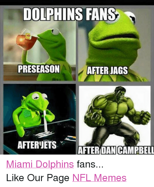 Facebook Miami Dolphins fans Like Our Page 45f089 dolphins fans preseason after jags after ets after dan campbell