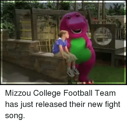 College football: Mizzou College Football Team has just released their new fight song.
