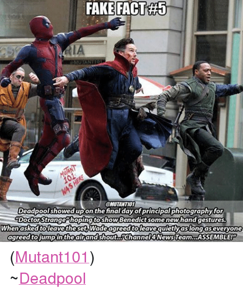 FAKE FACT#5 RIA Deadpool Showed Upon the Final ...