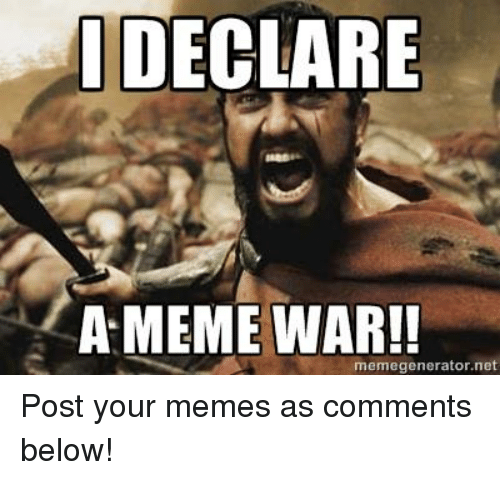 Facebook Post your memes as comments below edc2a5 meme war declared spam syndicate gamers,Facebook Post Meme