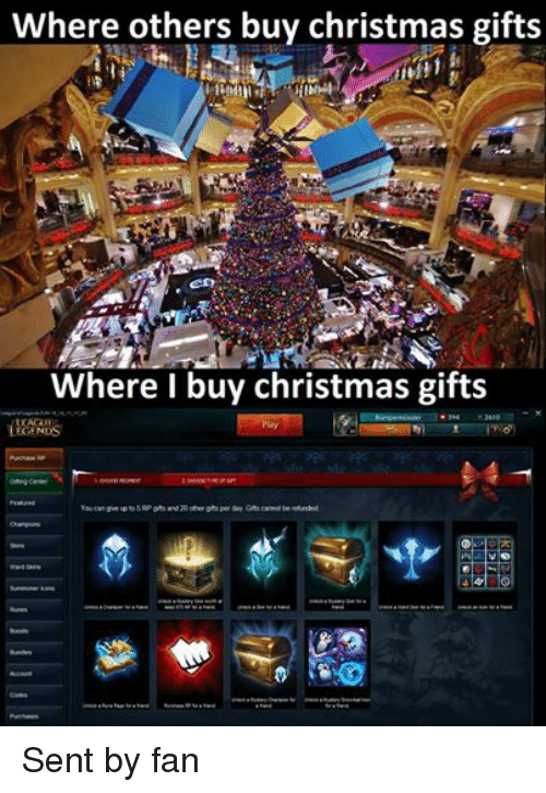 Where Others Buy Christmas Gifts Itil Where I Buy Christmas Gifts ...