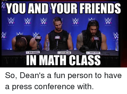 88 Funny Dean Ambrose Memes of 2016 on SIZZLE