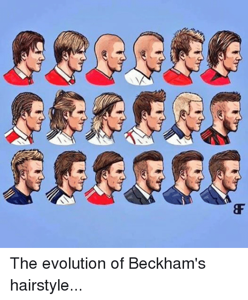 feather cut hairstyle : ... Evolution, and Hairstyles: 333393The evolution of Beckhams hairstyle