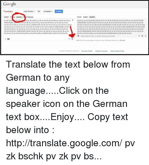 Google translate german to english-5066
