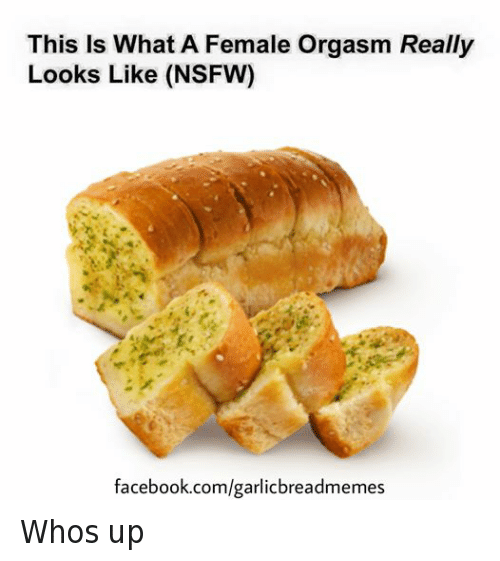 Facebook, Nsfw, and facebook.com: This Is What A Female Orgasm Really  Looks Like (NSFW)  facebook.com/garlicbreadmemes Whos up