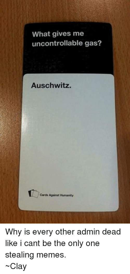 Funny Cards Against Humanity Meme : Funny cards against humanity memes of on sizzle
