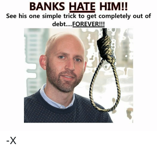 ... One Simple Trick to Get Completely Out of Debt FOREVER!!! -X   SIZZLE