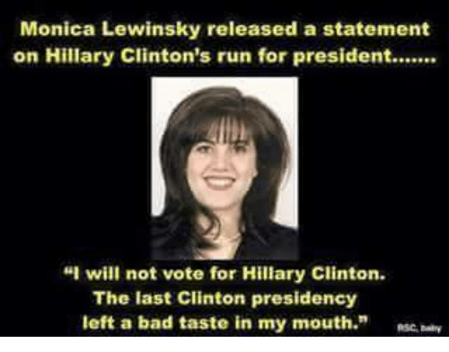 Bill clinton and monica lewinski porn