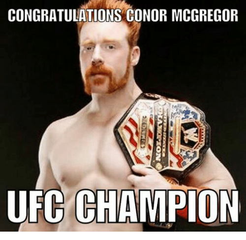 Conor McGregor, Ufc, and Congratulations: CONGRATULATIONS CONOR MCGREGOR  UFC CHAMPION