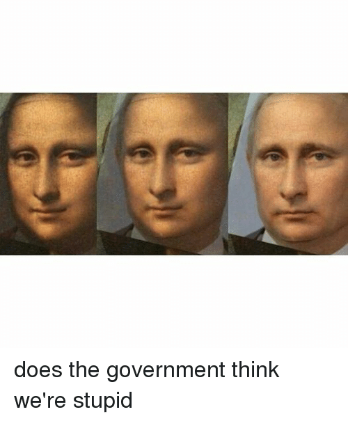 Dank Memes: does the government think we're stupid