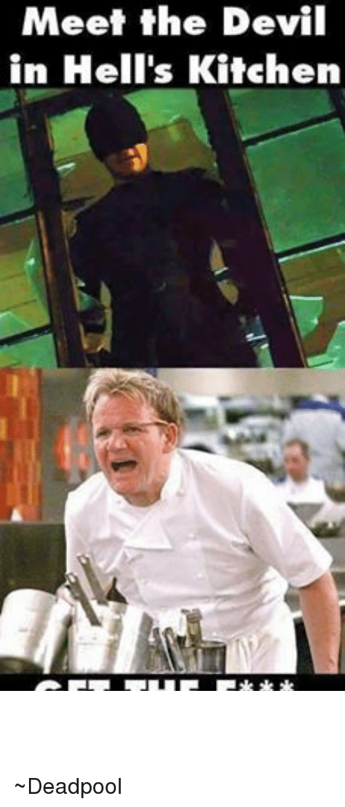 The Devil From Hell S Kitchen