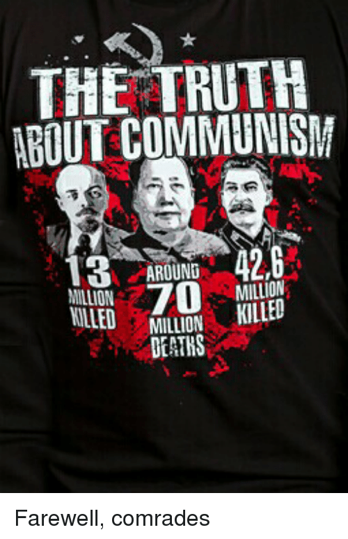 Death, Communism, and Truth: THE TRUTH ABOUT COMMUNISM 42,6 13 AROUND