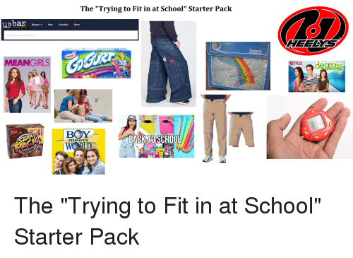 Funny Starter Packs Memes Of 2016 On SIZZLE