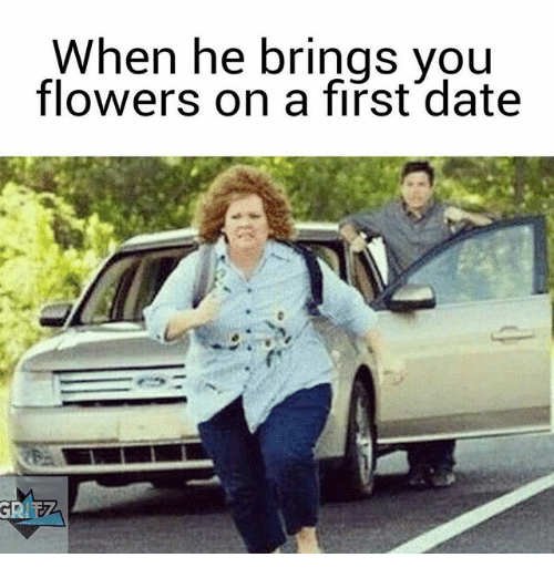 when first dating