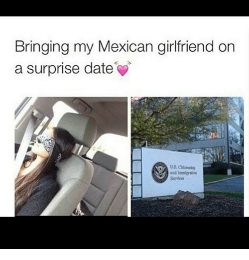 Mexican girlfriend