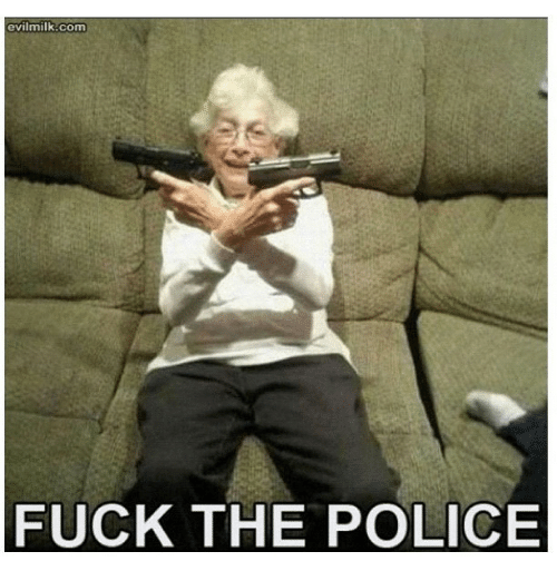 Fuck the Police, Fucking, and Funny: evilmilk com  FUCK THE POLICE